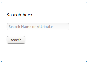 Index.php search form