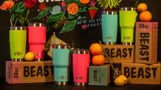 Greens Steel Stainless Steel Beast Tumbler