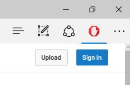 AdBlock menu doesn't failing to open in Microsoft Edge