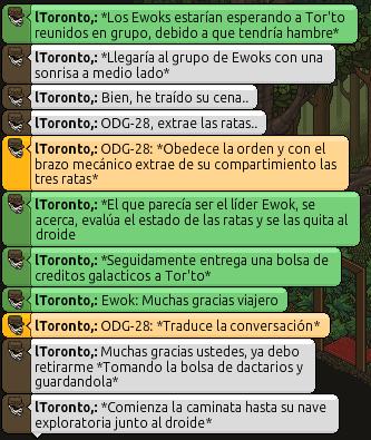 [Roleo de Mon Cala] ¡Mis amigos los Ewoks! 401585547d5433f68d3c073327db9b27