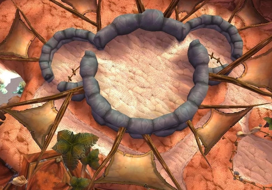 Mickey Mouse está presente también en Orgrimmar, capital de la Horda. Fuente: http://wowwiki.wikia.com/wiki/Easter_eggs