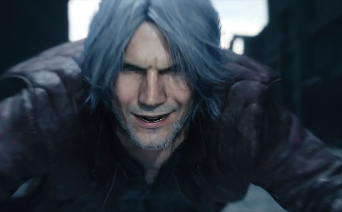 Dante's Look In Devil May Cry 5
