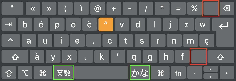 Image n°2: Layout Bépo sur mon clavier Japonais JIS