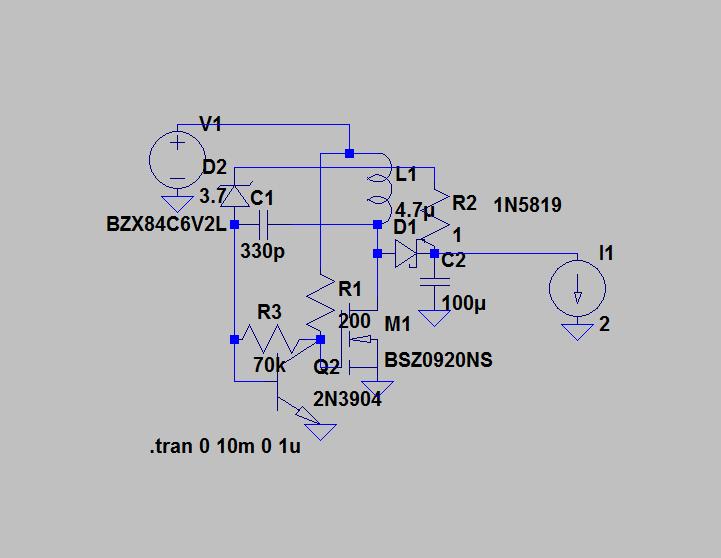 Simple discrete two transistor boost converter  - Page 1