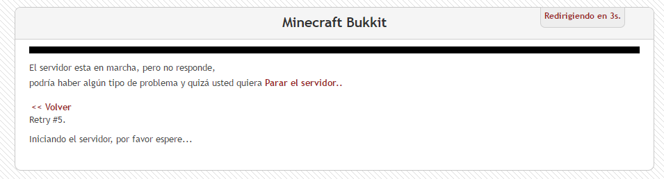 Open game panel - Discussion Forum: Minecraft Server don't work