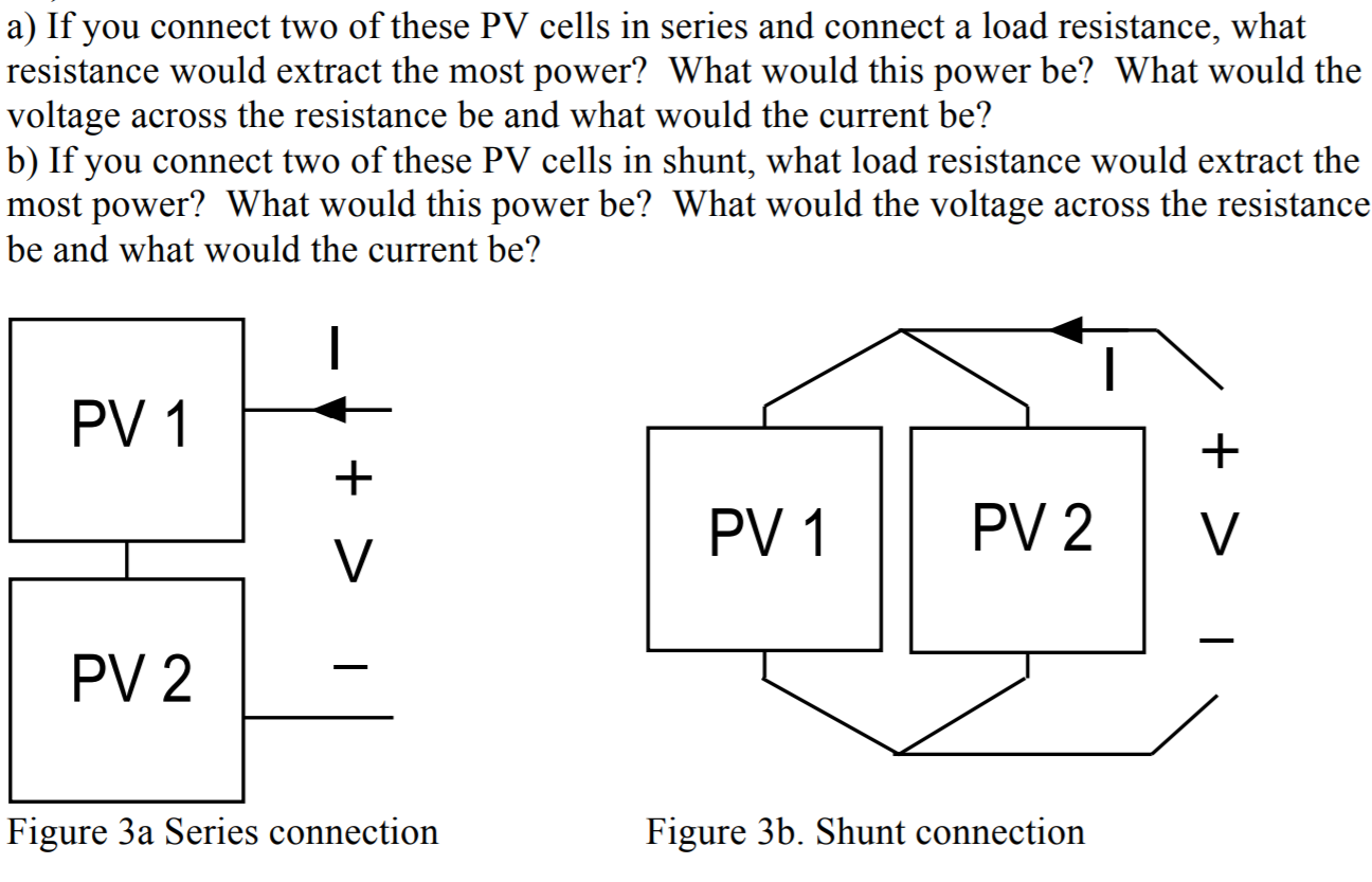 Solved In Electrical Circuits A Two Terminal Device Is O Series Electric Circuit If You Connect Of These Pv Cells And Load