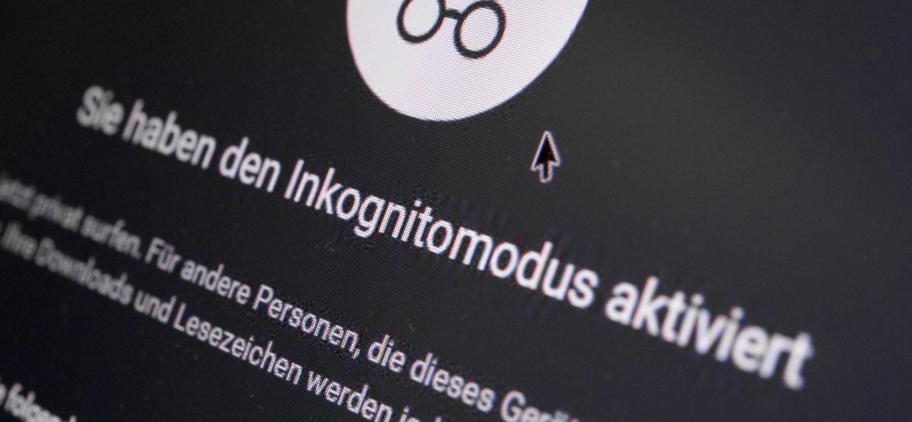Der Inkognitomodus verhindert Cookies & Browserverlauf