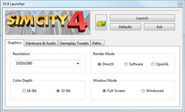 simcity launcher