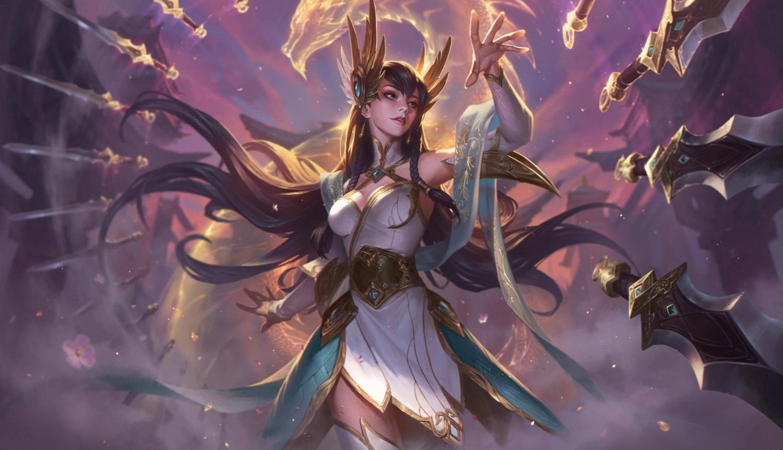 Irelia espada de los dioses