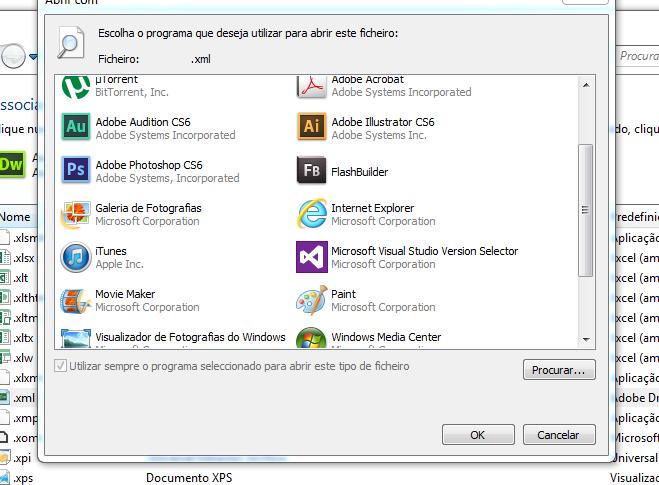 Office 2013 Ficheiros Xml Abrem Com Dreamweaver Em Vez Office Xml