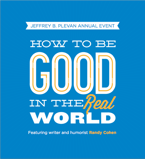 How to be good in the real world banner