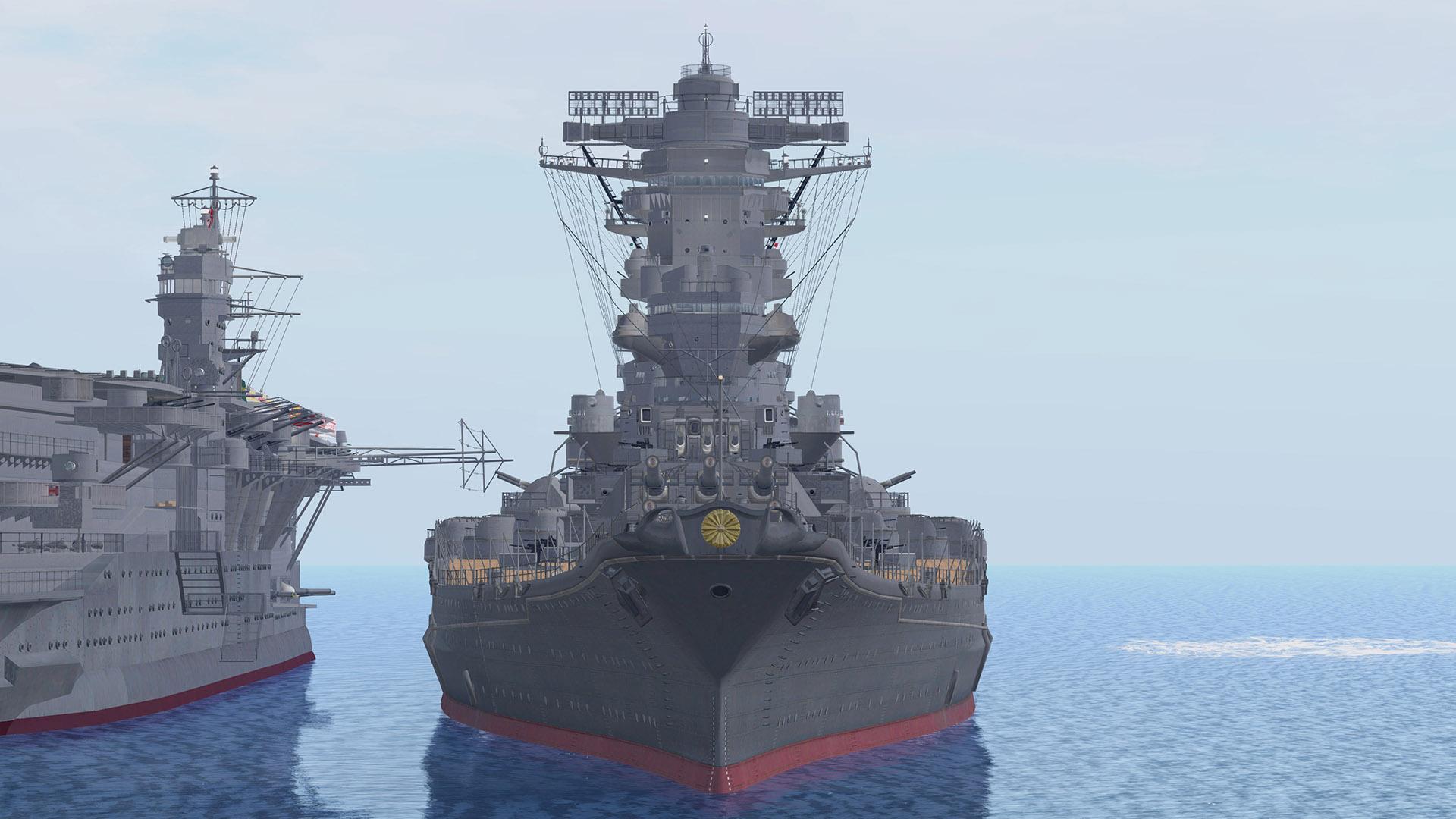 Cafeシンデレラ 実寸大の戦艦大和と空母赤城が復活です Site Name Add