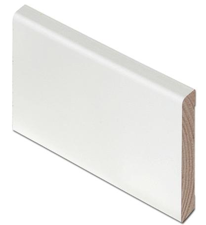 Дверь финская с четвертью Jeld-WenTraditon 52 под стекло, массив сосны, белый лак