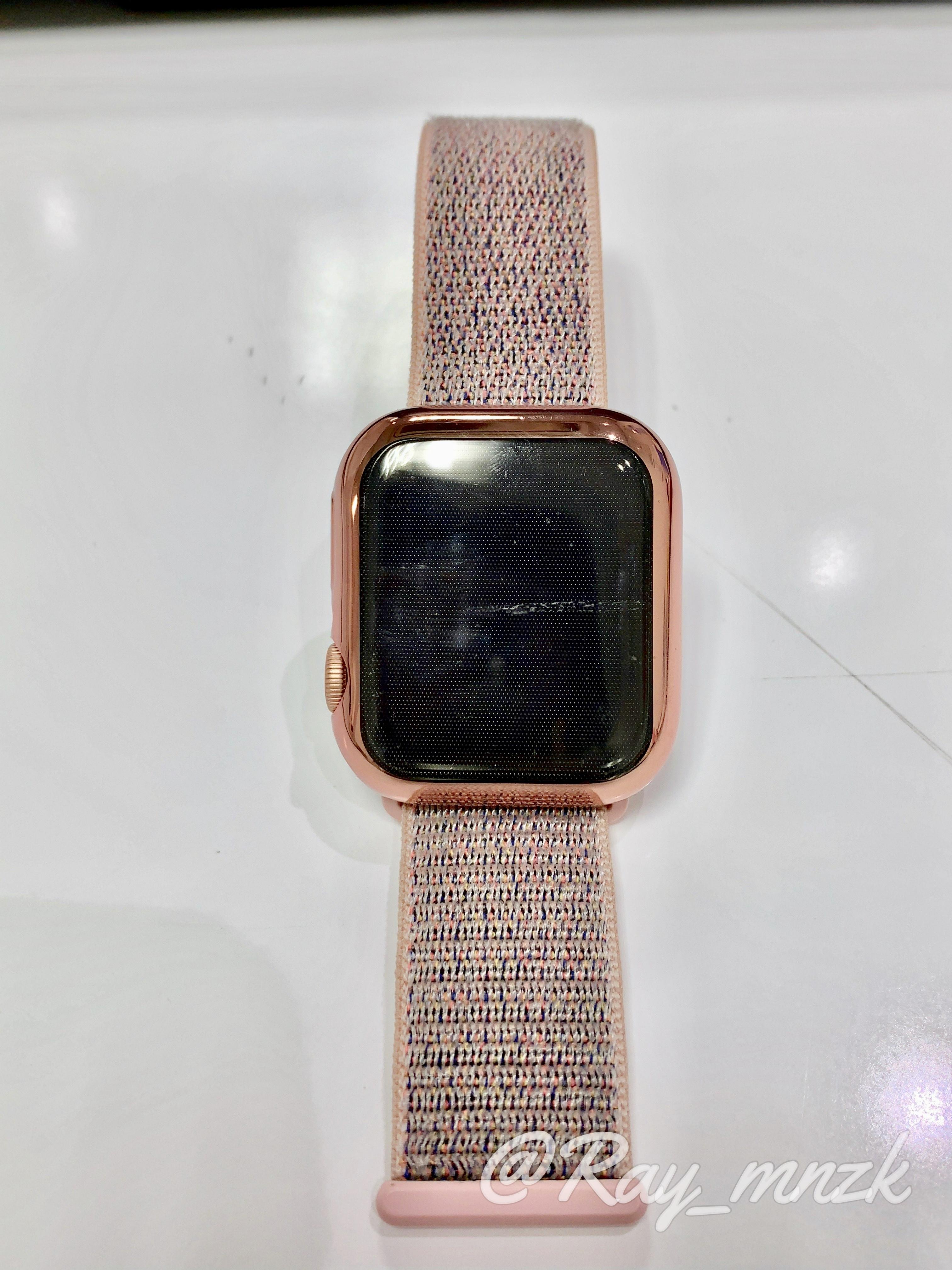 AppleWatchローズゴールドカバー