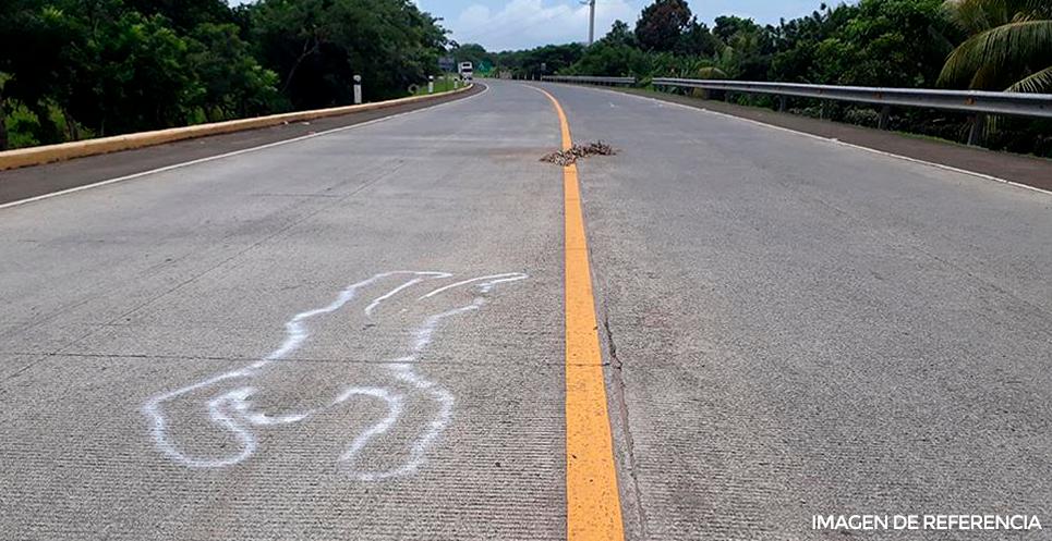 Anciano muere atropellado por camión repartidor en La Trinidad