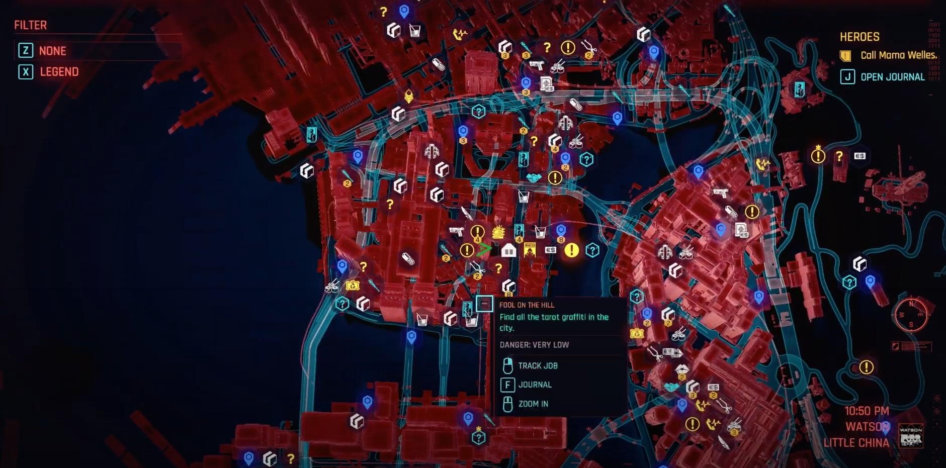 plan de crisis cyberpunk 2077