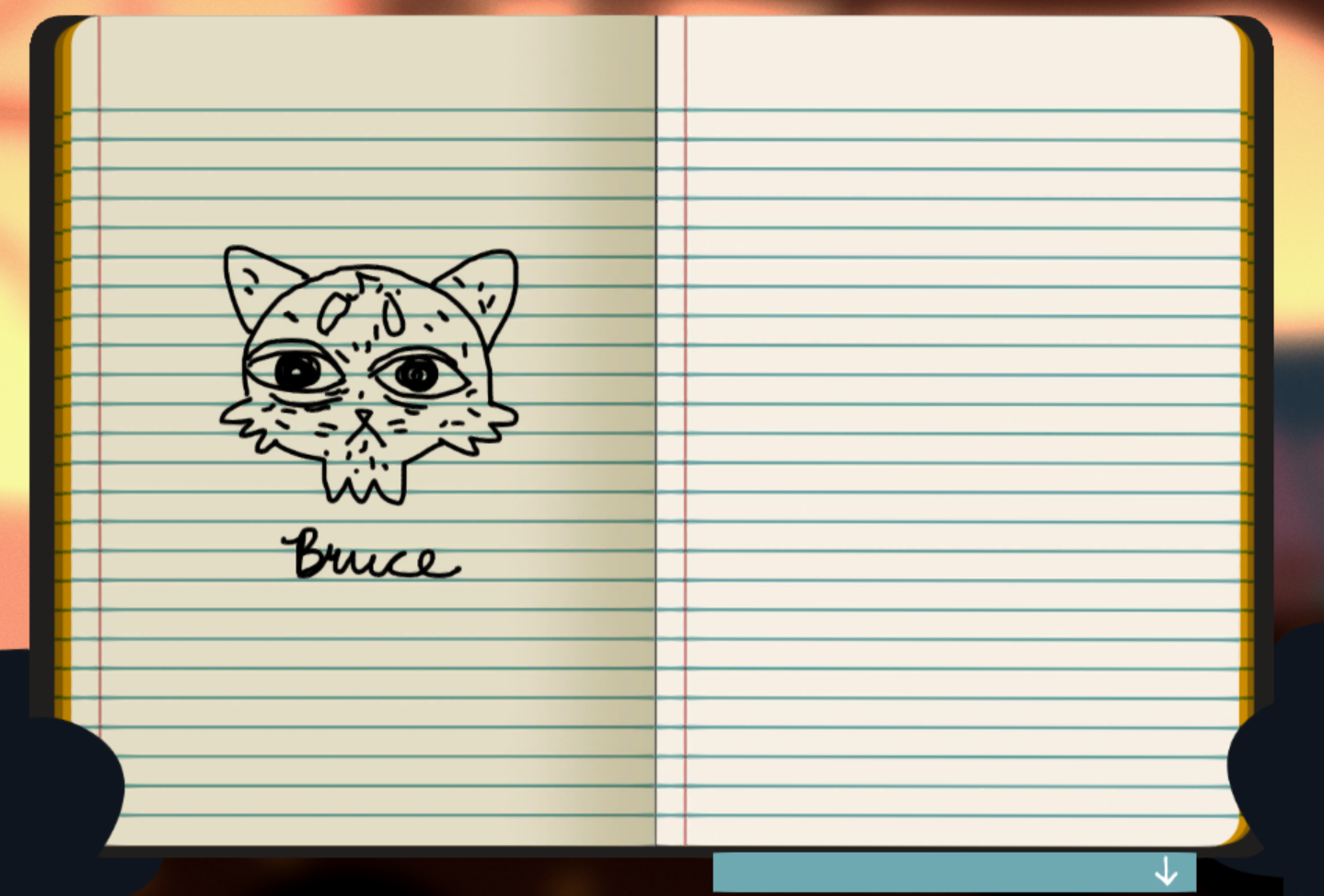Night In The Woods Sketch Locations Journal Entries The Fantasy