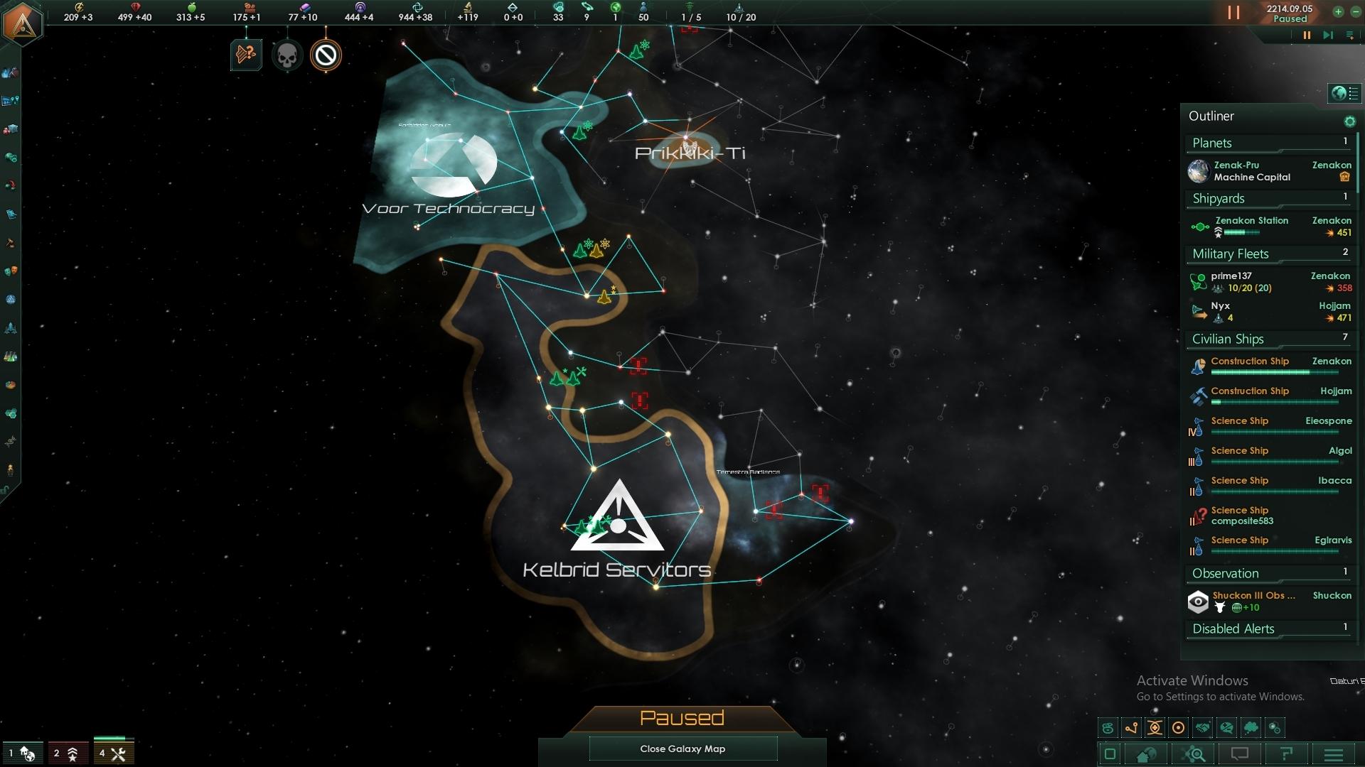Stellaris Time Loop Anomaly