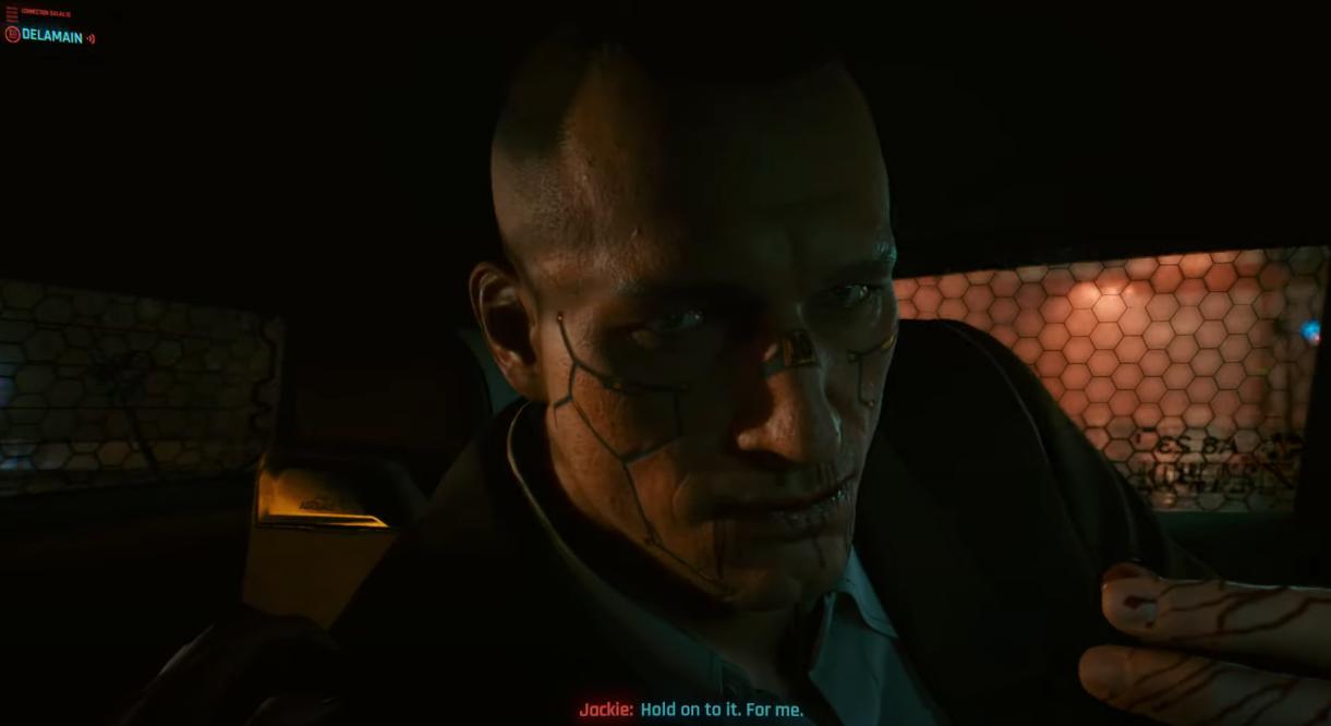 cyberpunk 2077 jackie welles save