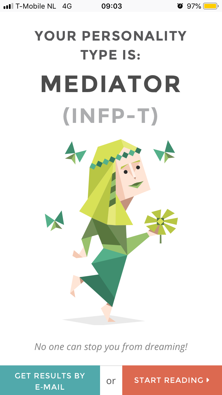 Whats your personality type?
