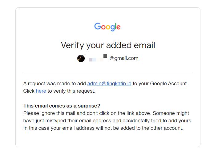 verifikasi email domain