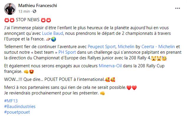 FIA European Rally Championship: Temporada 2021 - Página 3 4ccf29b8e7e33f8d73444e9633339479