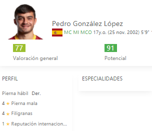 Pedri FIFA 22