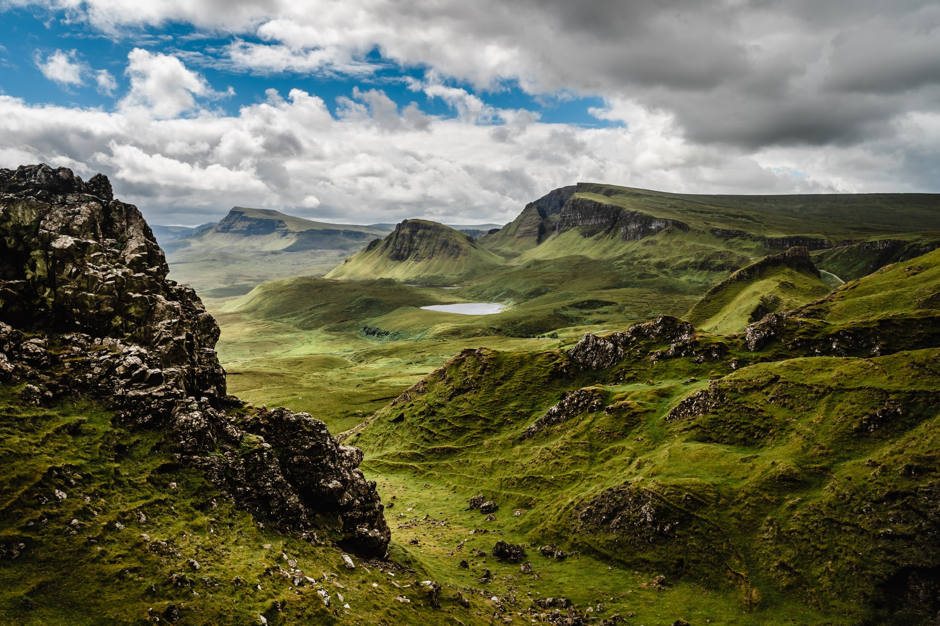 great view nature Scotland