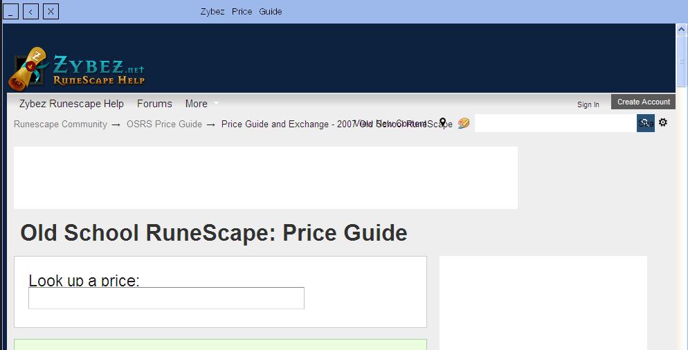 VB ] Oldschool Runescape Custom client!   Easy to Run (14KB) [ VB ]