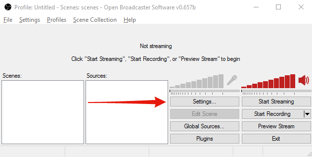 Setting Up A Stream [Tutorial] With Pictures : Twitch