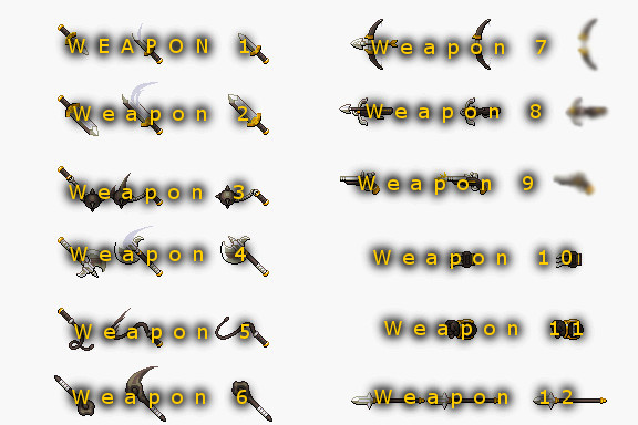 Rpg Maker Weapon Icons – Wonderful Image Gallery