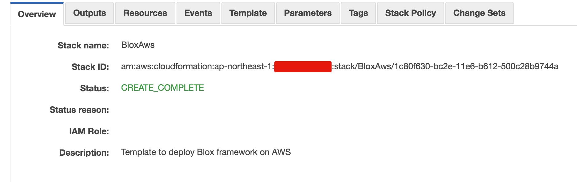 CloudFormation Status