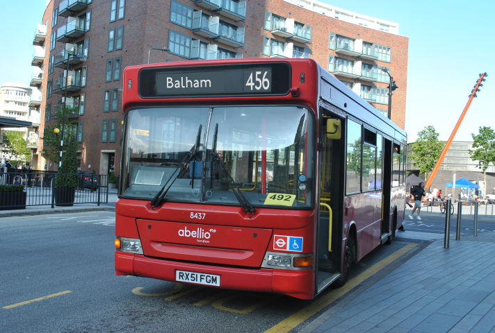 New Route 456 Proposal The South London Bus Blog