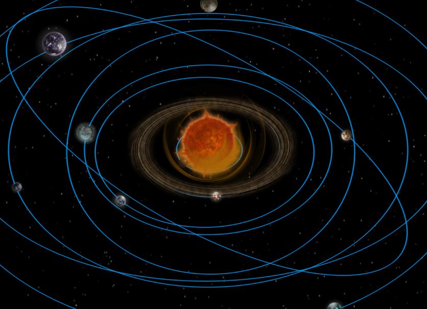 solar system orbit and rotation - photo #6