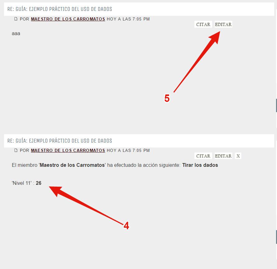 """Guía: Ejemplo práctico del uso de dados en partidas de clase """"Grupal"""" 544bbad8dbfcdf3deb41e658b6dc6ee5"""
