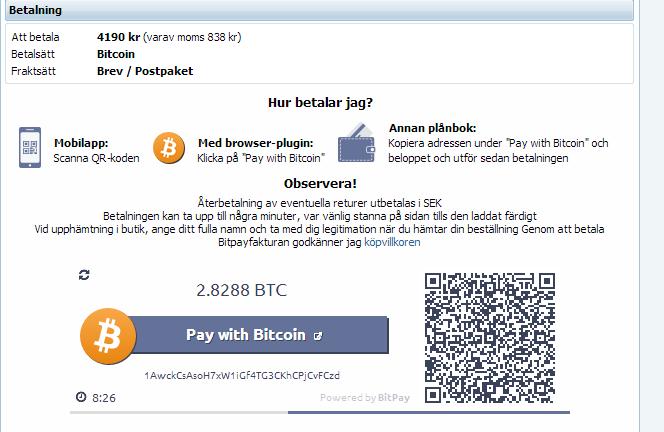 webhallen bitcoin
