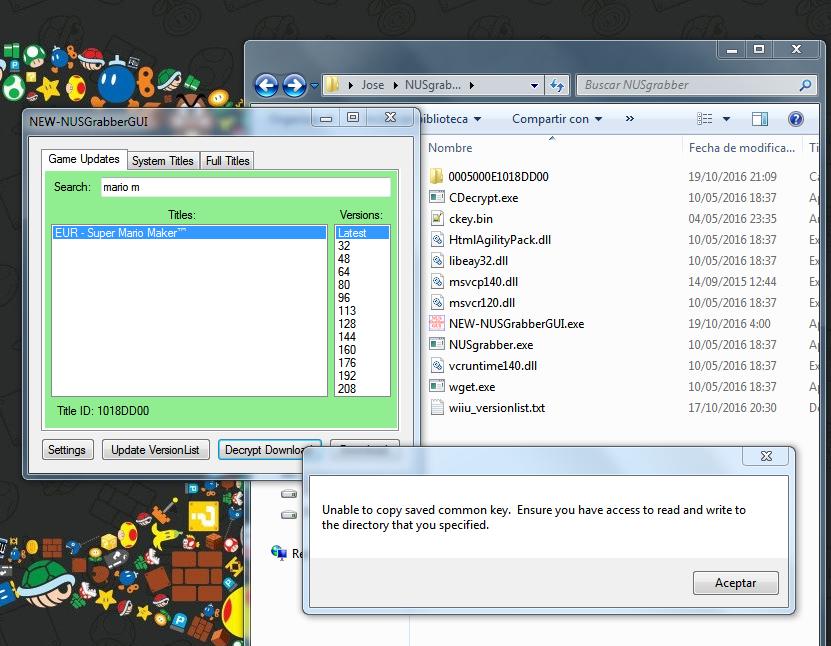 Mini-Tutorial] Usar Actualizaciones de Juegos en Loadiine en Wii U