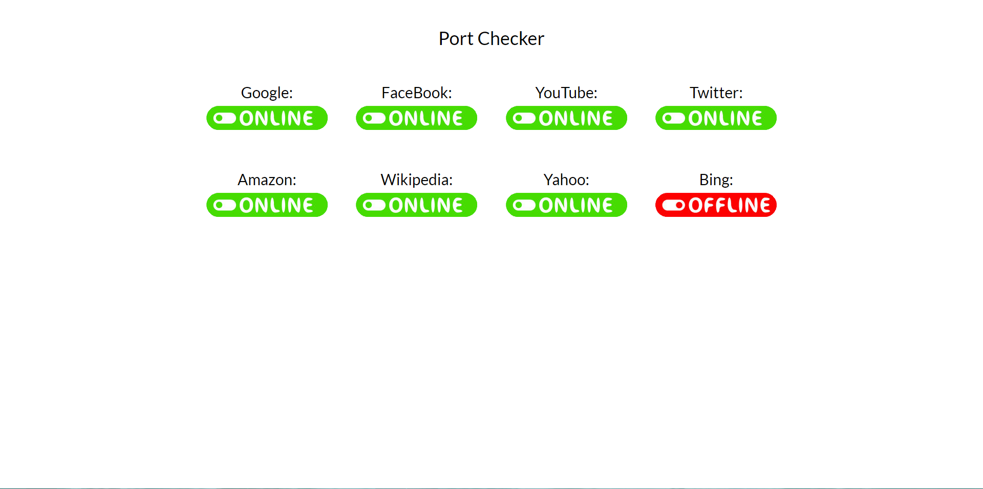 Question - (HTML + PHP) Online Port Checker | R4P3 NET