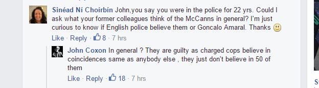 Ex Cop John Coxon has something to tell. 56b0dc59daa122632c6d1c386a9e0631