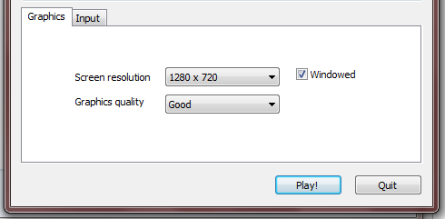 Custom Resolution Dialog at Start? - Unity Answers