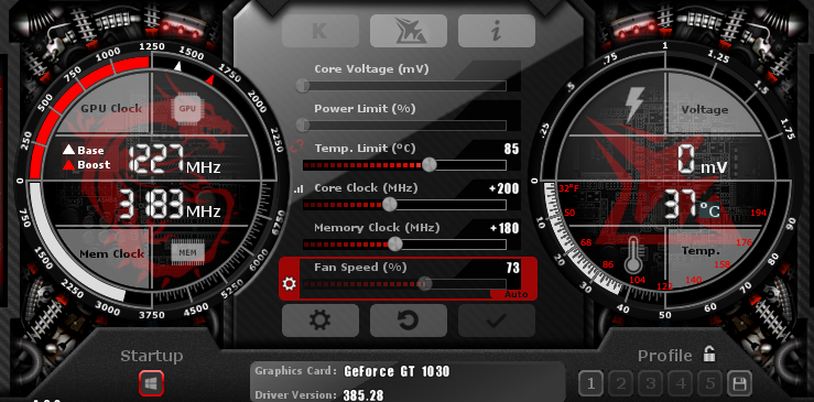 Overclocking my GT 1030 to the max | Tom's Hardware Forum