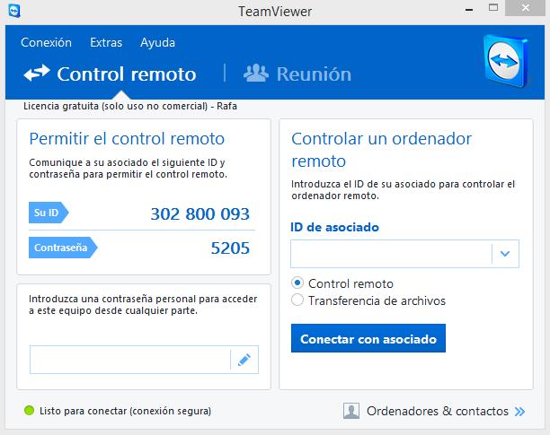 Instalación y uso de TeamViewer [TUTORIAL] 5926d5b0a03a9e606b9d35d8c38be88c