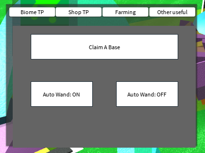 Simple Army Control Simulator GUI