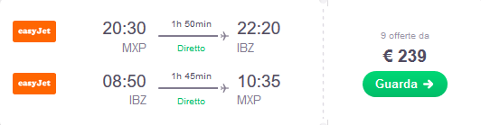 Clicca qui per cercare voli low cost per Ibiza!