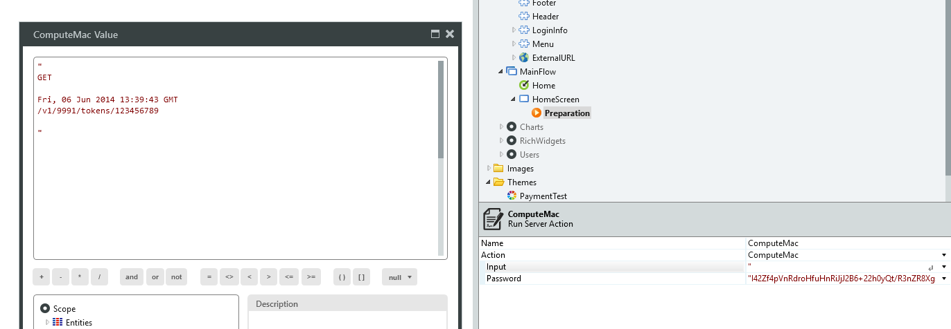 CryptoAPI] API using 'MAC algorithm: HMAC-SHA256' as