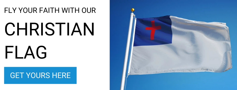 Stand Flagpoles Christian Flag