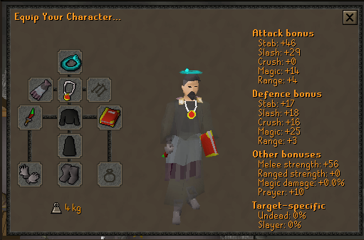 Dds + ghostly robes on my 10hp Ironman - Goals