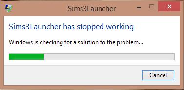 Sims3Launcher not working... 5bec0138b2d1533dfcf531feea7e576f