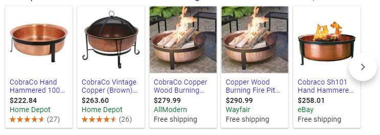 cobraco sh101 firepit on sale