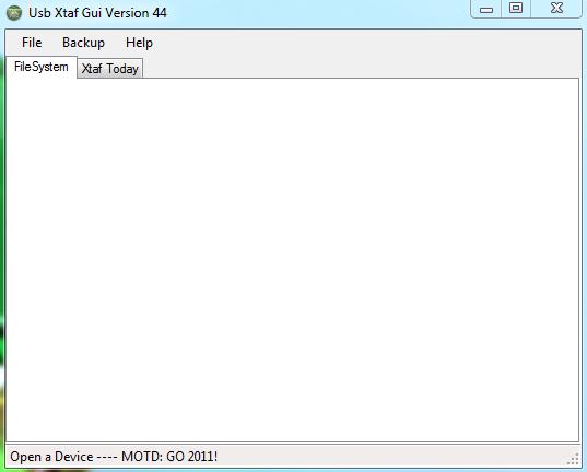 [Aporte] USB Xtaf Xplorer GUI v44 [Mediafire]